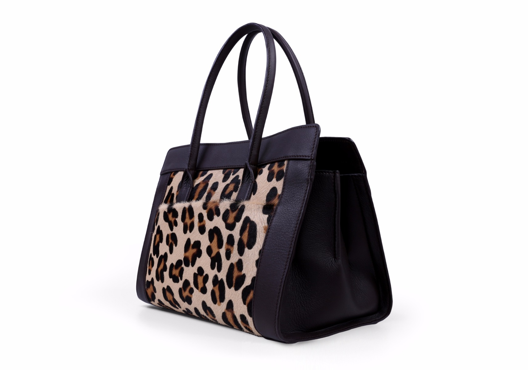 Leopard Satchel tote