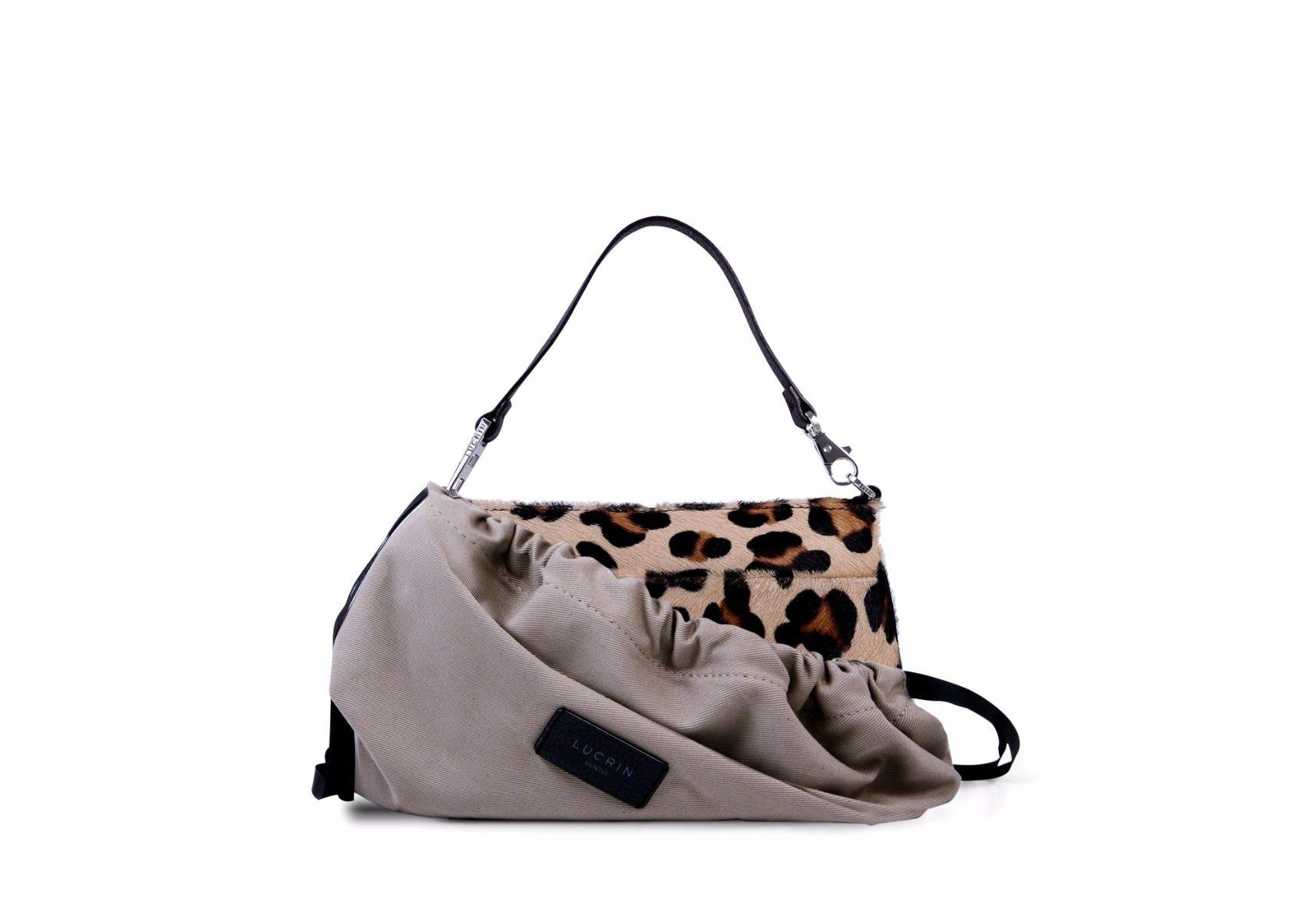 Leopard Wristlet