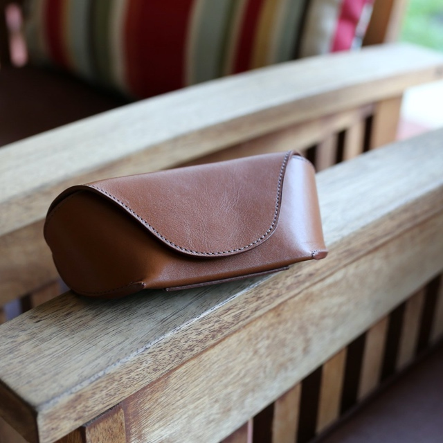 Semi-Rigid glasses belt case