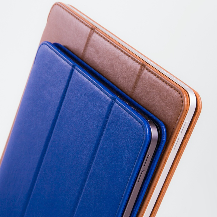 12.9-inch iPad Pro (2019) Case & Smart Cover - Royal Blue - Smooth Leather